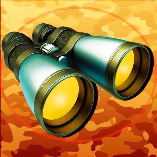 Military Binoculars Professional - Zoom and Private Folder - Easily Super Camera Magnify