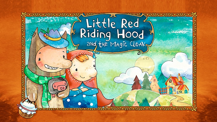 Little Red Riding Hood and the Magic Cloak