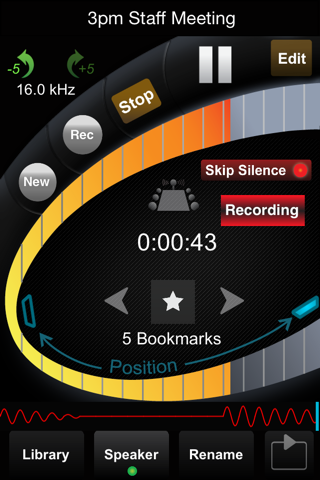 Screenshot of HT Professional Recorder