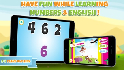 Learn numbers - Educational game for toddler kids & preschool children screenshot one