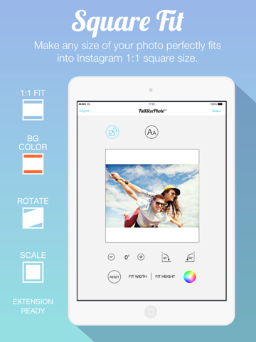 How to fit your whole photo on instagram without cropping