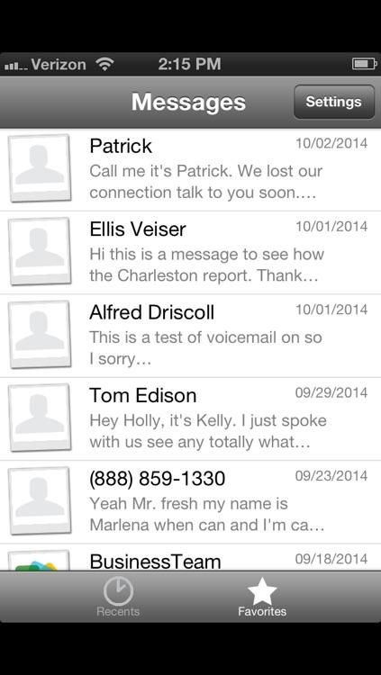 Nteract Visual Voicemail