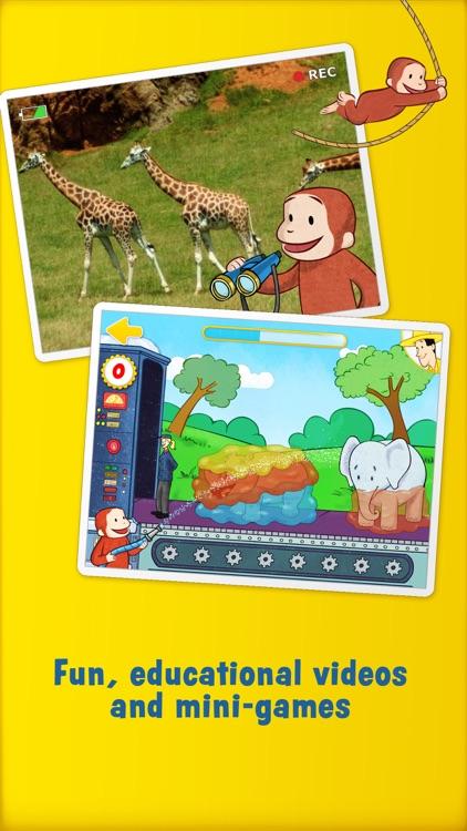 Curious George: Zoo Animals screenshot-3