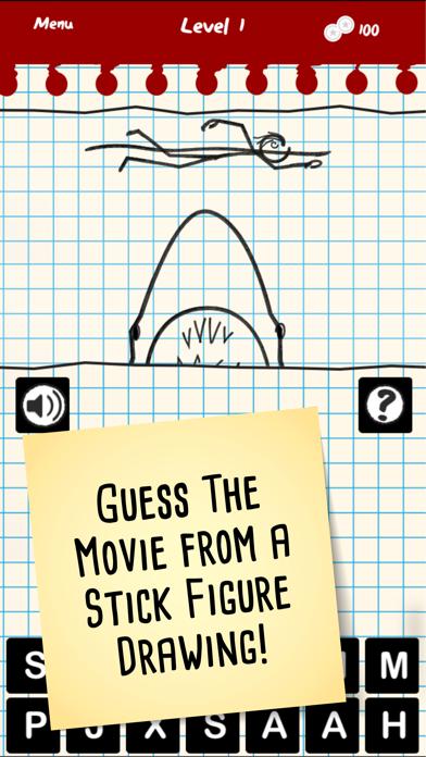 Stick Figure Movie Trivia screenshot one