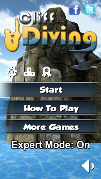 Cliff Diving 3D screenshot-1
