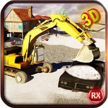 清雪模拟器 - 重型挖掘机整机3D