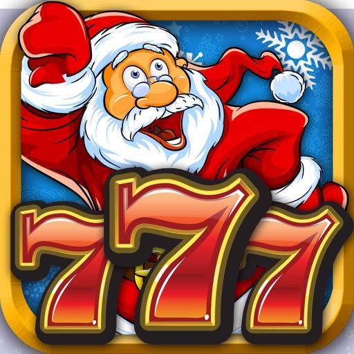 -AAA- Holiday Santa Christmas 20 Line Fun Slot- Machine Jackpot Casino Gambling games