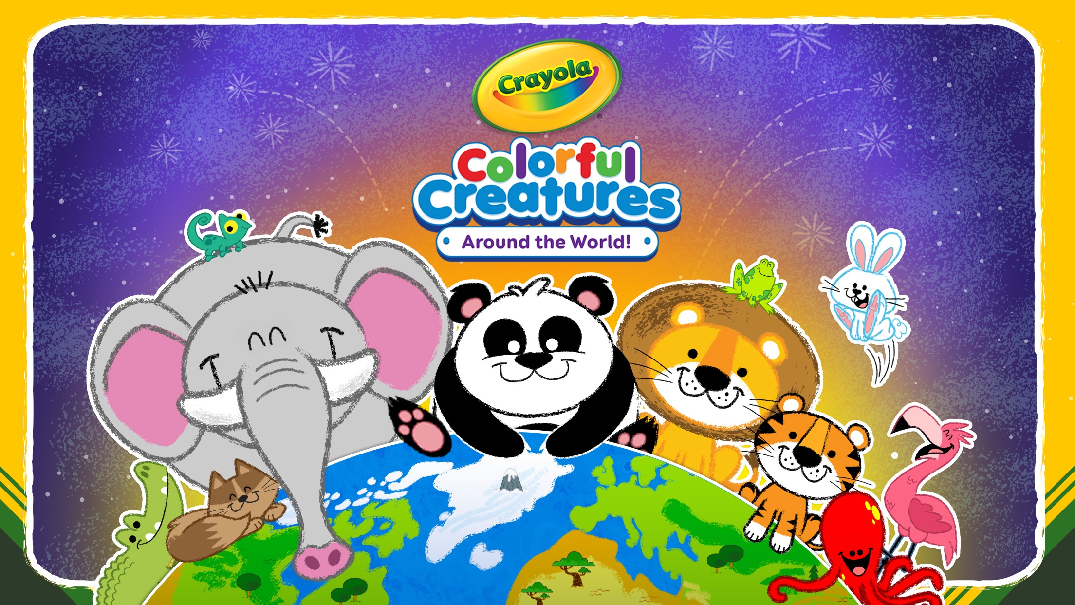 Crayola Colorful Creatures - Around the World! Screenshot