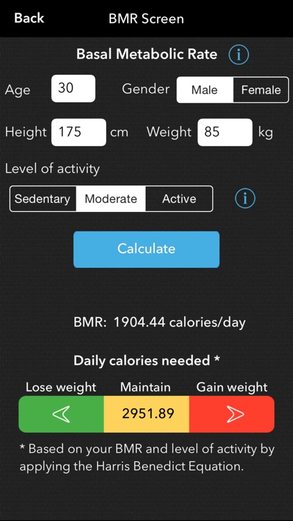 Mighty Scale -  Simple Weight Loss And Body Metrics Tracker screenshot-4