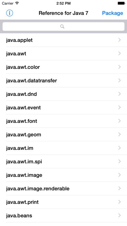 Reference for Java 7