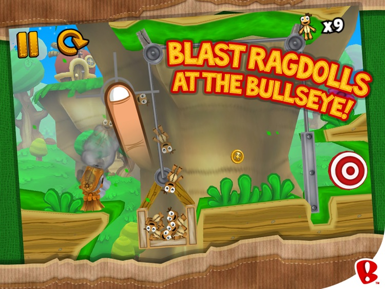 Ragdoll Blaster 3: Deluxe HD screenshot-1