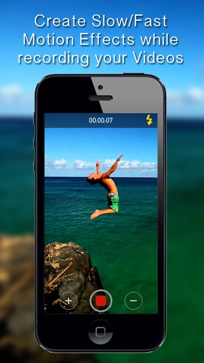 Video Speed - Real time slow & fast motion Camera and Video Editor
