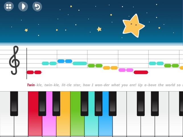 Spiksplinternieuw Spelen en zingen – Piano voor kinderen in de App Store TY-14