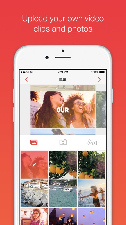 Wordeo: Upload & edit videos to create & share e-cards with your friends