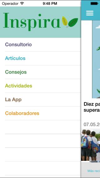 Inspira para padres y madres: salud infantil y medio ambiente screenshot one