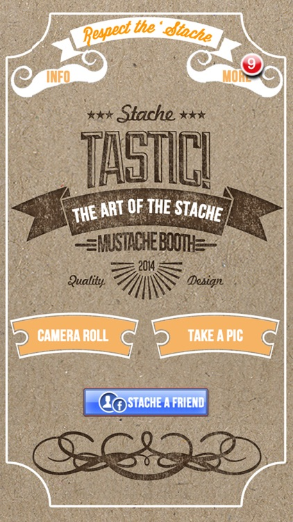 StacheTastic! Art of The Mustache Beard Photo Sticker Pic Booth FREE screenshot-4