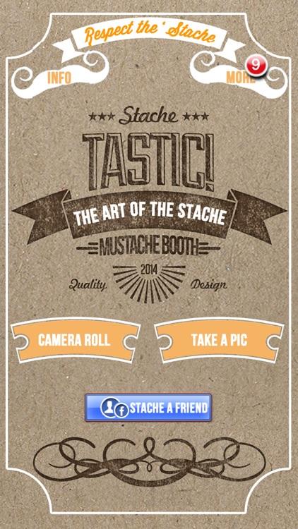 StacheTastic! Art of The Mustache Beard Photo Sticker Pic Booth FREE screenshot-4