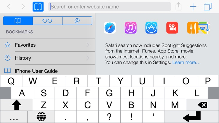 ReadableKeys Keyboard Extension screenshot-2