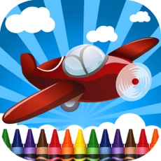 Activities of Planes Coloring-Book