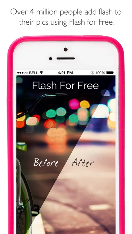 Flash for Free – Best Photo Editor with Flash & Awesome FX Effects screenshot-0
