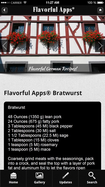 German Recipes from Flavorful Apps®