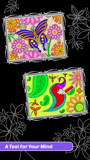 Enchanted Forest Art Class Coloring Book For Adults On The App Store