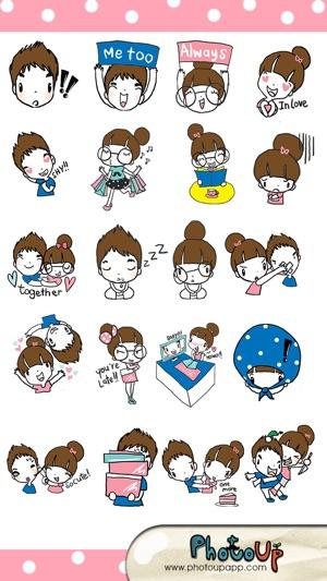 La Pluie Camera by Photoup - Cute Cartoon stickers Decoration ...