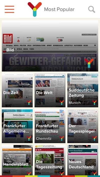 myNews Pro DeutschlandScreenshot von 1