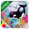 Ocean - The encyclopedia of the sea animals for kids and parents. Children's book and coloring games. Free version. - iPadアプリ