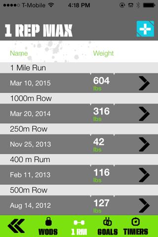 WODzilla - Workout Tracker - náhled