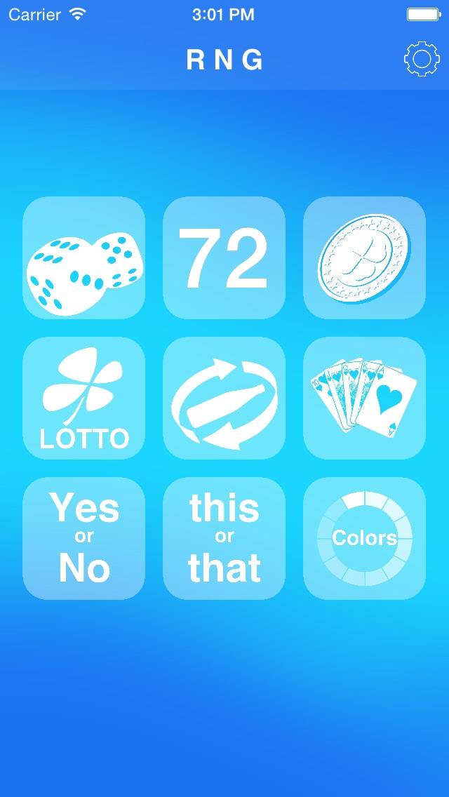 Screenshot #5 for Random Number Generator +