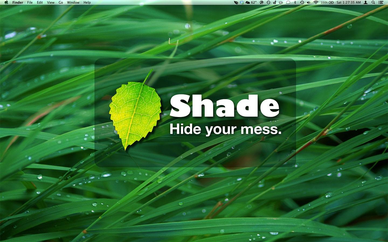 Screenshot do app Shade