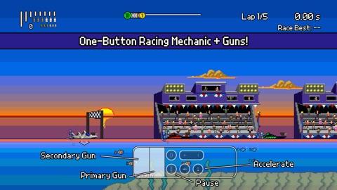 Screenshot #5 for Pixel Boat Rush TV