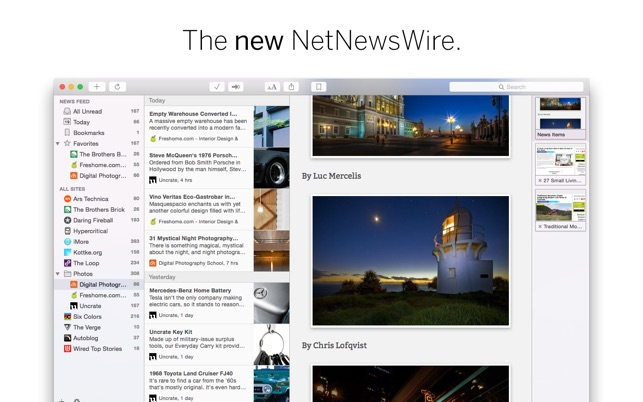 NetNewsWire Screenshot