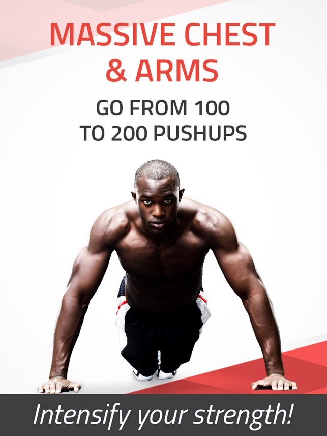 ‎Pushups Extreme: 200 Push ups workout trainer XT Pro