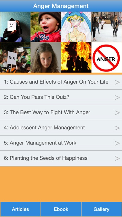 Anger Management - The Guide To Manage & Control Your Anger! screenshot-0