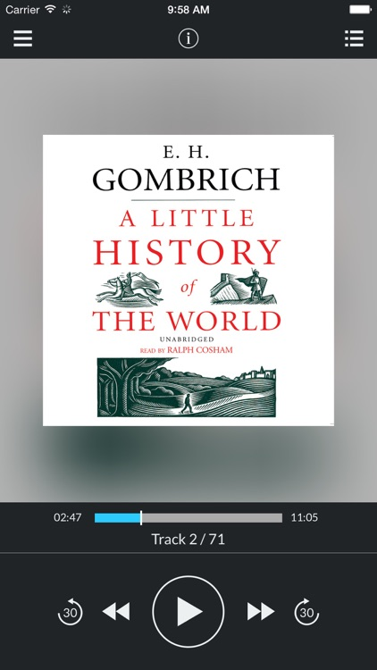 A Little History of the World (by E. H. Gombrich) (UNABRIDGED AUDIOBOOK)