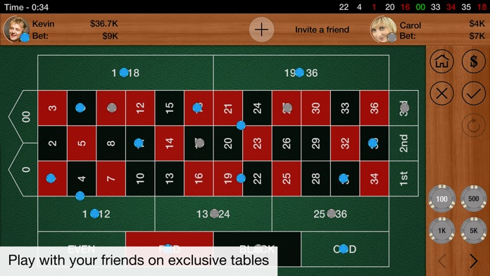 Roulette Multiplayer Screenshot