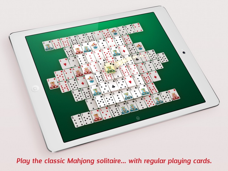 Mahjong Cards - Play classic mahjong solitaire with playing cards screenshot-0