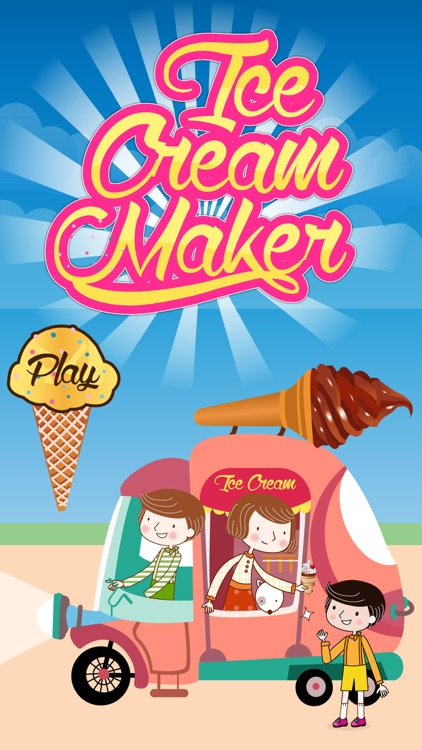 Ice Cream Maker - Frozen ice cone parlour & crazy chef adventure game