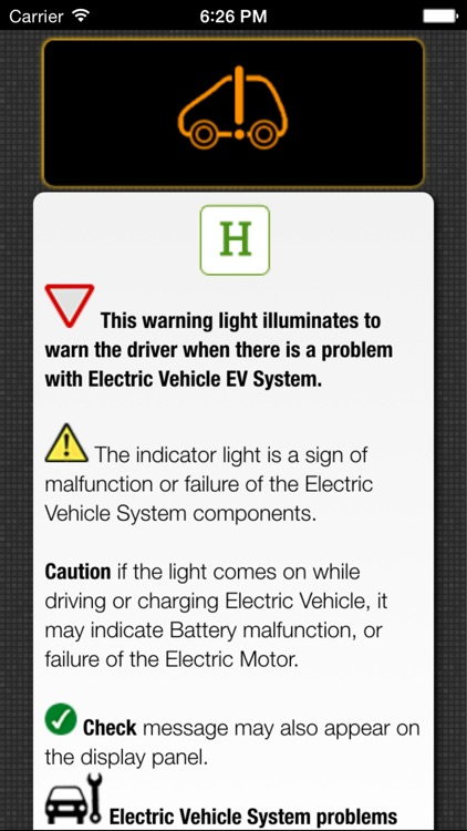 App for Nissan Cars - Nissan Warning Lights & Road Assistance - Car Locator screenshot-4