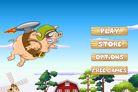 Piggy Ship Rider Saga - Milk Bottle Run Adventure screenshot 1