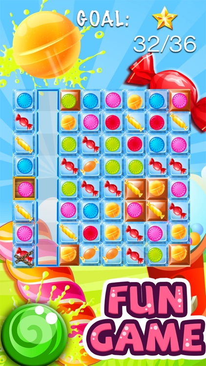 Candy Feast - fruit jam in match-3 mania game free screenshot-3