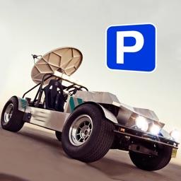 Lunar Parking - Astro Space Driver