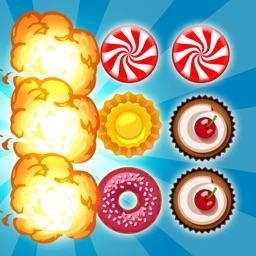 A Candy Land Pop Mania Free - A Match and Crush Craze