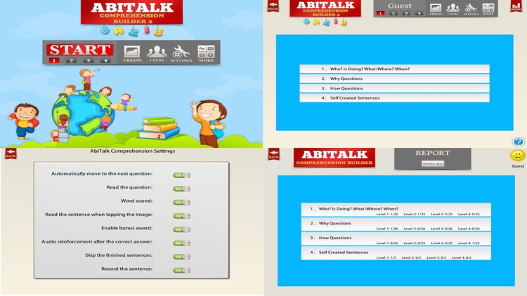 Comprehension Builder 2 - WH Question App for English Language Learning and Speech Therapy screenshot-4