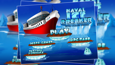 Naval Ice Breaker : The Arctic Journey To Save Polar Bears - Free Edition screenshot one
