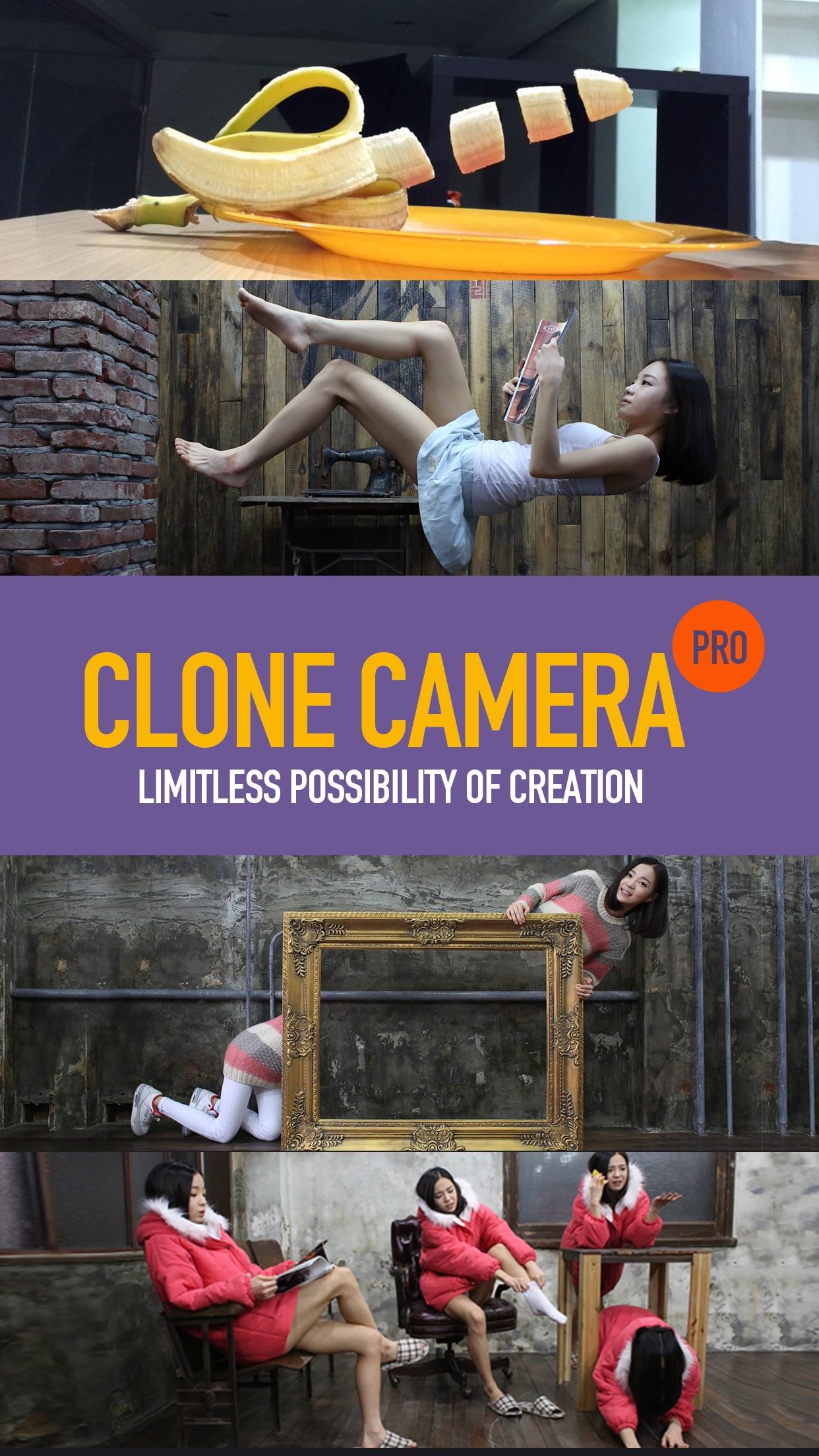 Screenshot do app Clone Camera Pro
