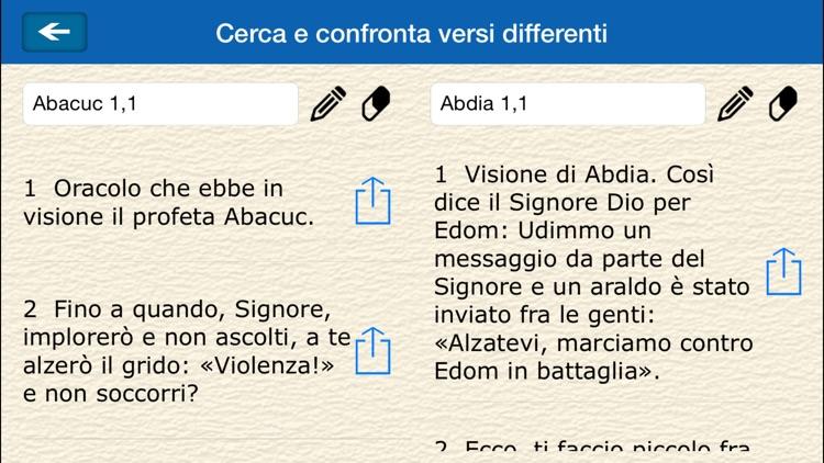 La Sacra Bibbia -(La Bibbia in italiano) screenshot-3