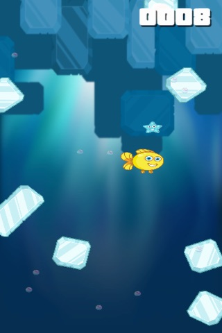 Ice Block Dash - Mr. Fish Get All The Starfishes - náhled
